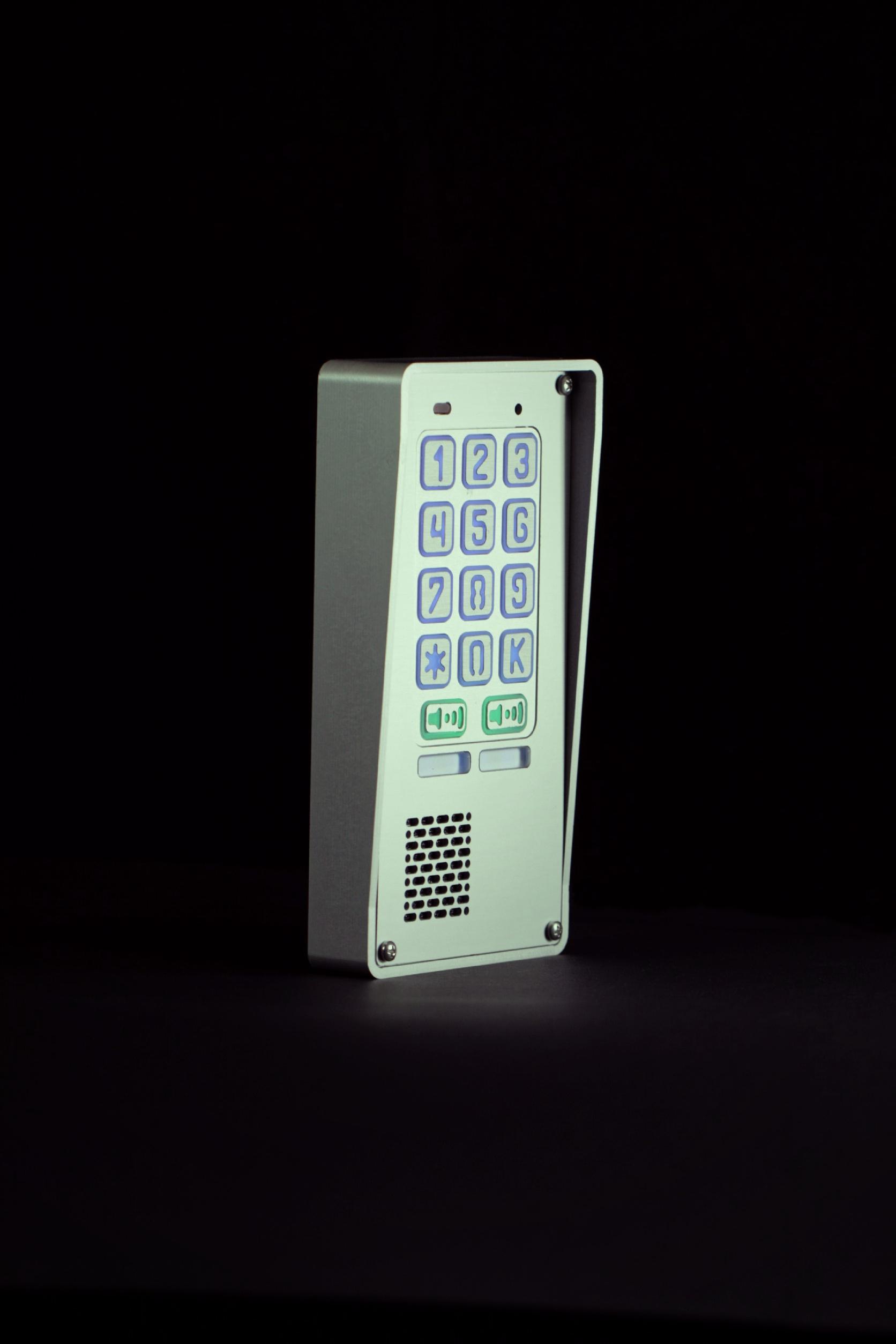 Sklep   Domofon dwurodzinny z szyfratorem RADBIT NOV BZ 2P