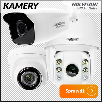 Hikvision Hiwatch Kamery do monitoringu